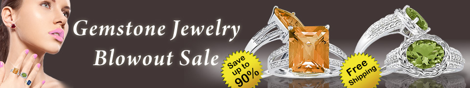 Gemstone Jewelry Blowout Sale