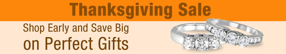 Thanksgiving Day Jewelry Sale