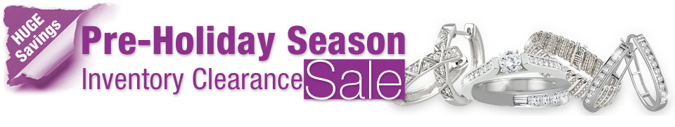Pre-Holiday Season Jewelry Inventory Clearance
