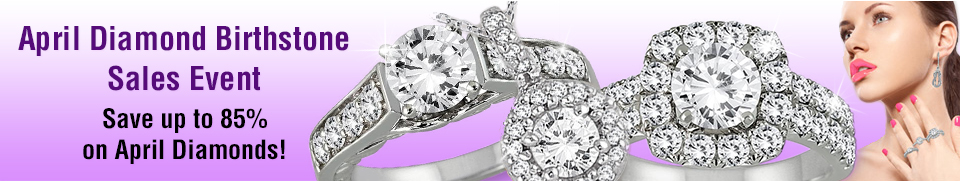 April Diamond Jewelry Sale