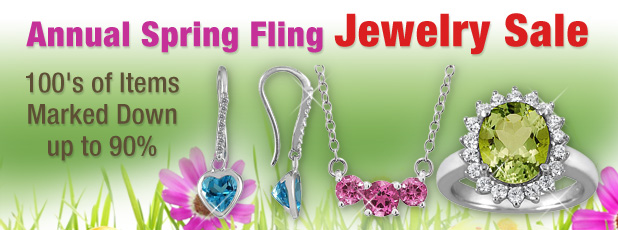 Spring Jewelry Clearance Sale