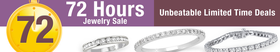72 Hour Jewelry Sale