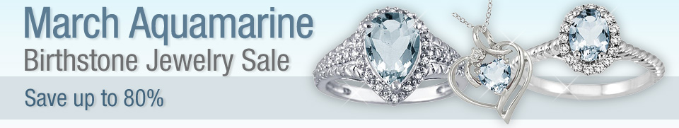 Aquamarine Jewelry Deals