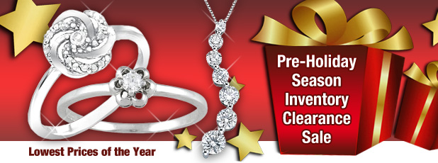 Pre Holiday Jewelry Inventory Clearance
