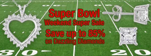 Super Bowl Weekend Jewelry Deals