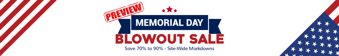 Memorial Day Jewelry Sale