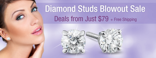 Diamond Studs Sale