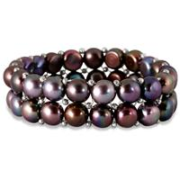 All Natural Freshwater Double Row Pearl Bracelet - $19 + Free Shipping