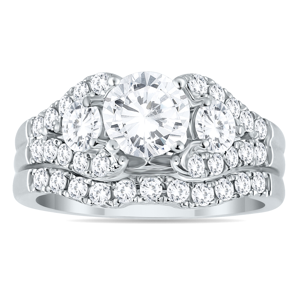 AGS Certified 2 1/5 Carat...