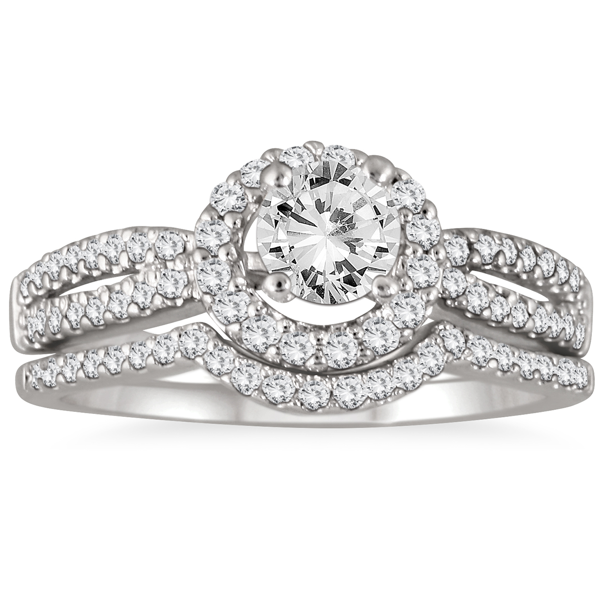 AGS Certified 1 1/5 Carat...