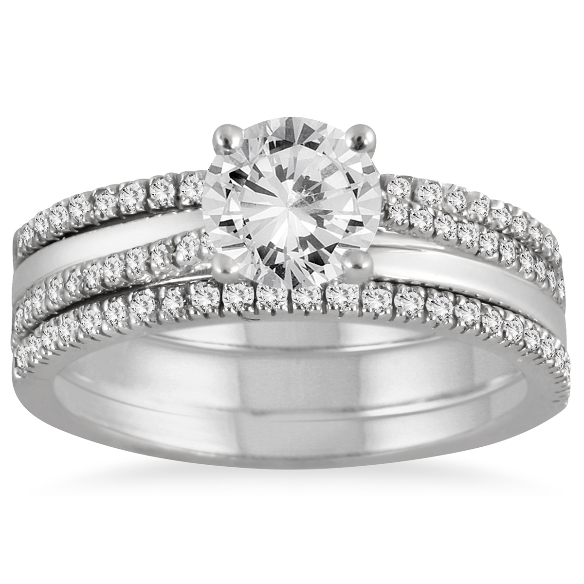 AGS Certified 1 2/5 Carat TW Diamond