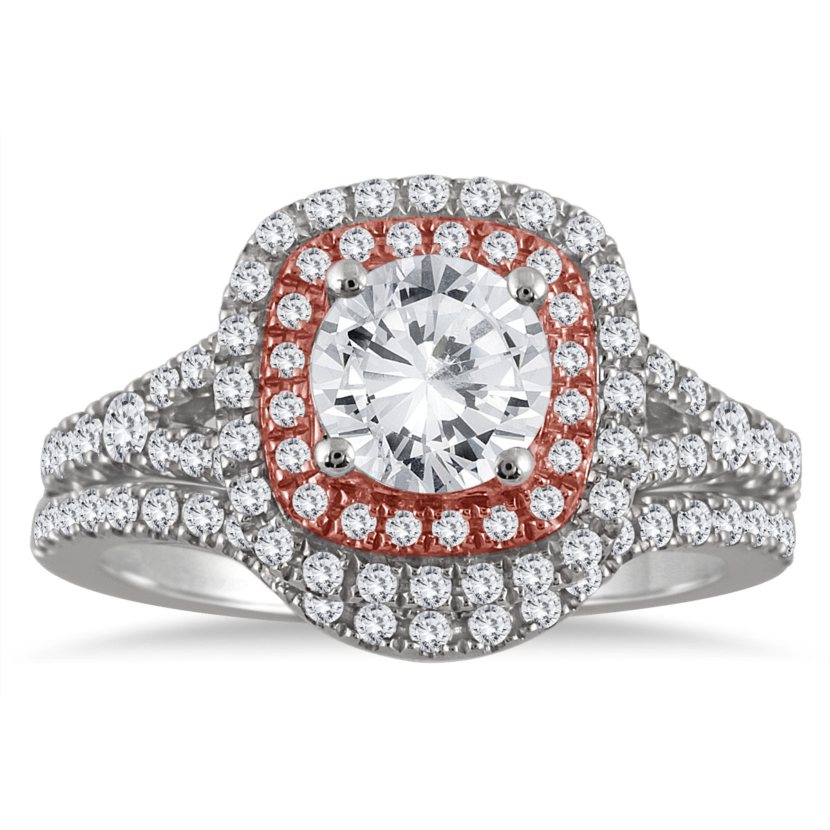 AGS Certified 1 5/8 Carat...