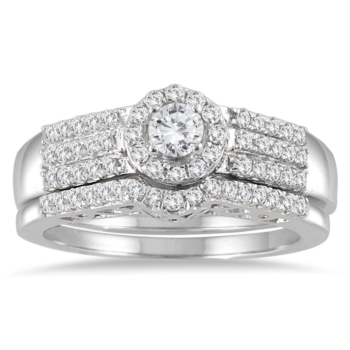 3/4 Carat TW Diamond...