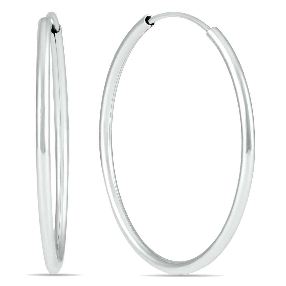 25MM Hoop Earrings in...