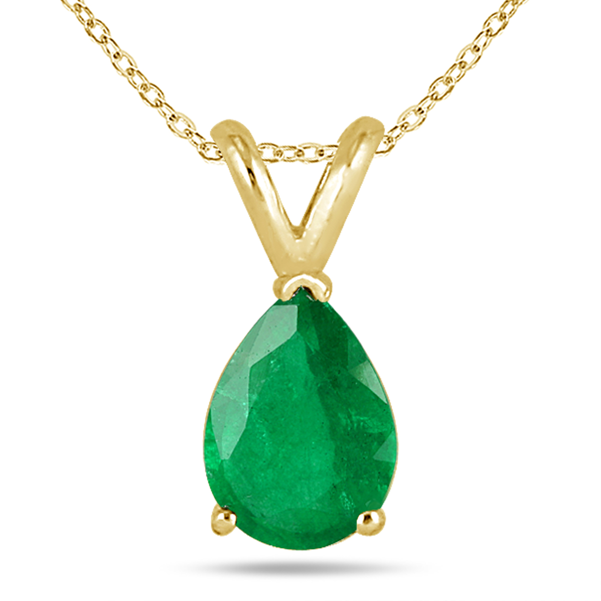 7x5mm Pear Shape Emerald...