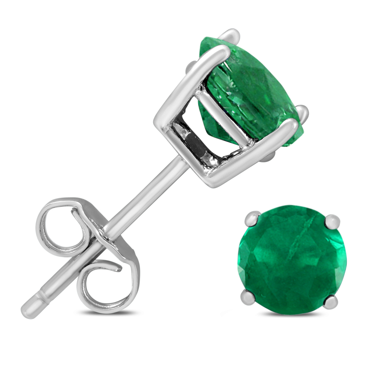 6mm May Emerald Stud...