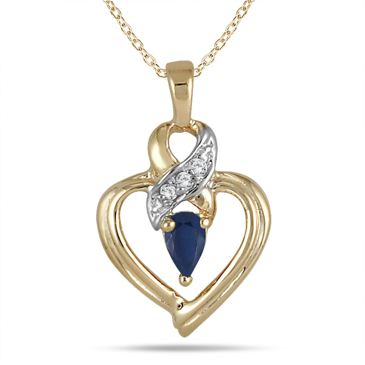 Pear Shaped Sapphire...