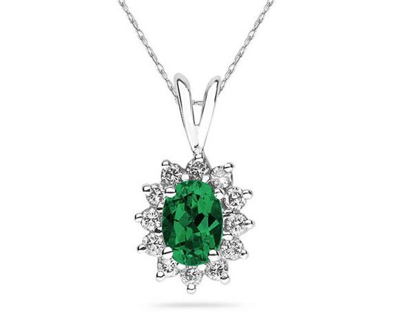 7X5mm Oval Shaped Emerald...