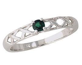 Emerald Antique Ring
