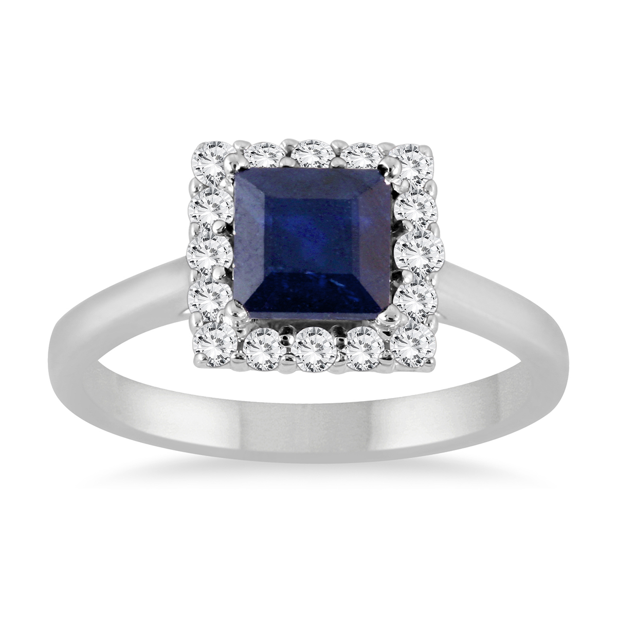 2 Carat Sapphire and...