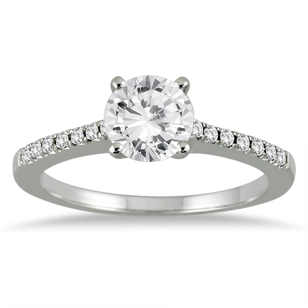 AGS Certified 1 1/8 Carat...