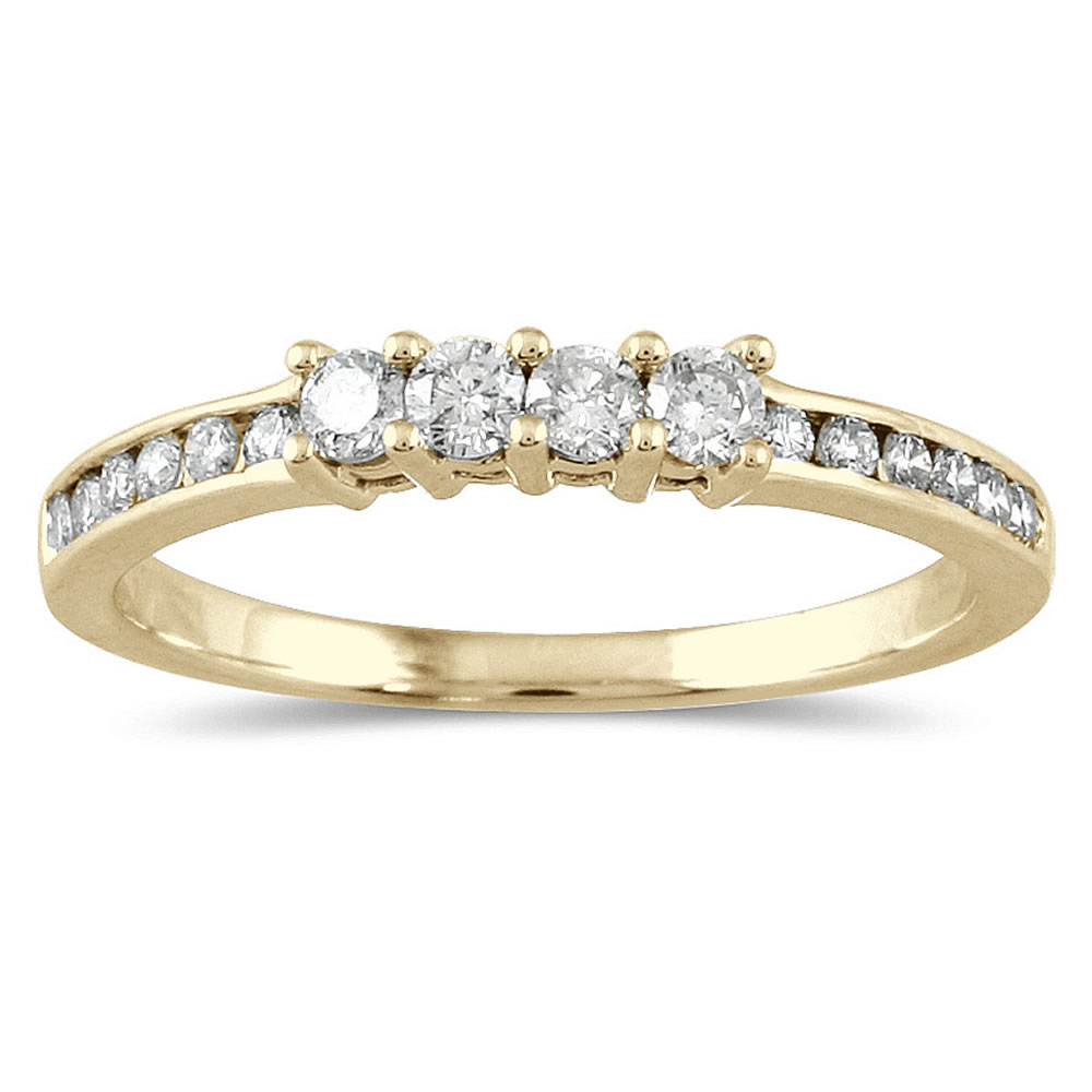 1/3 Carat TW Diamond Wedding Band in