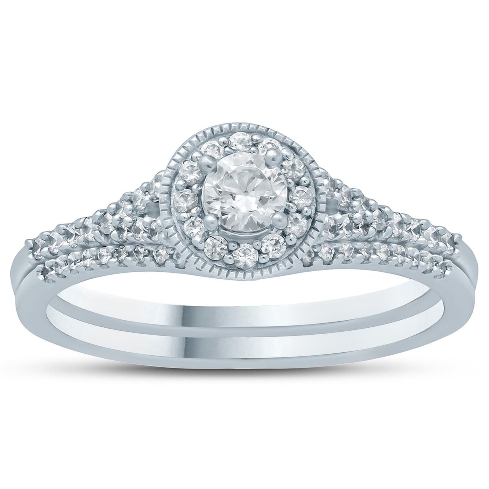 1/2 Carat TW Diamond...