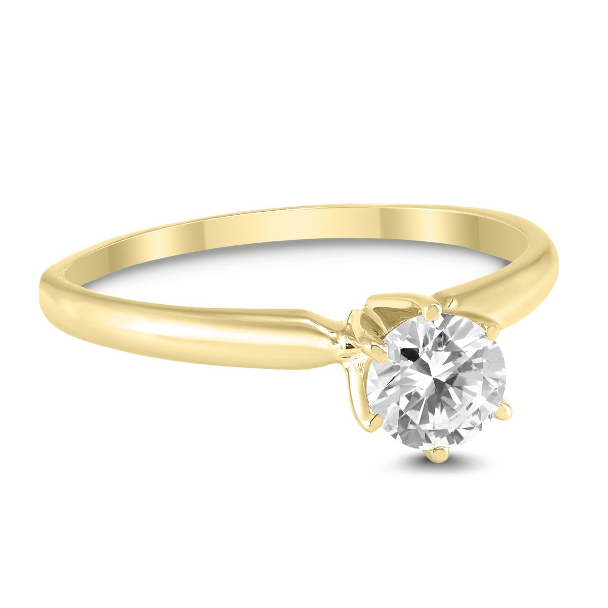 3/8 Carat Round Diamond...
