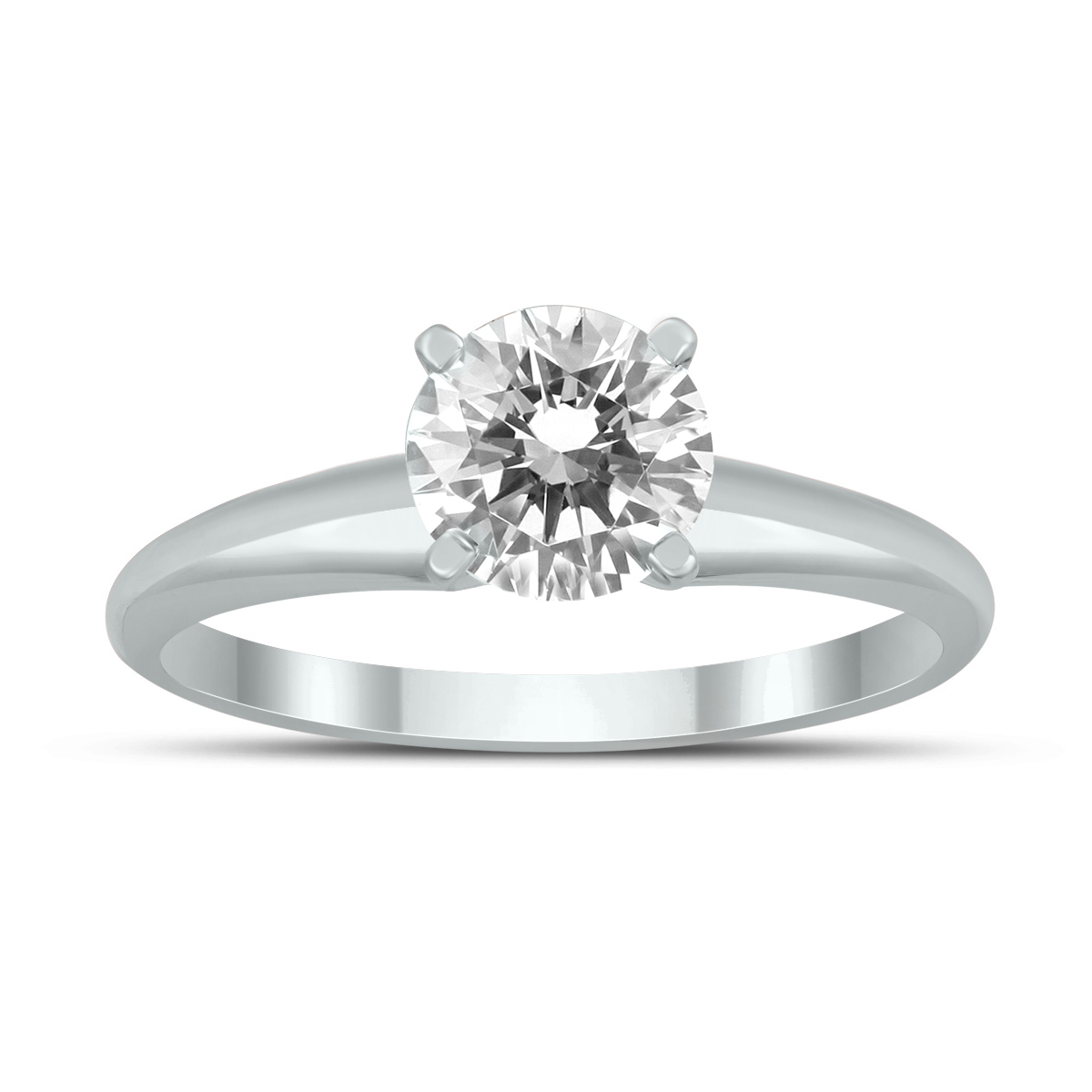 AGS Certified 1 Carat...