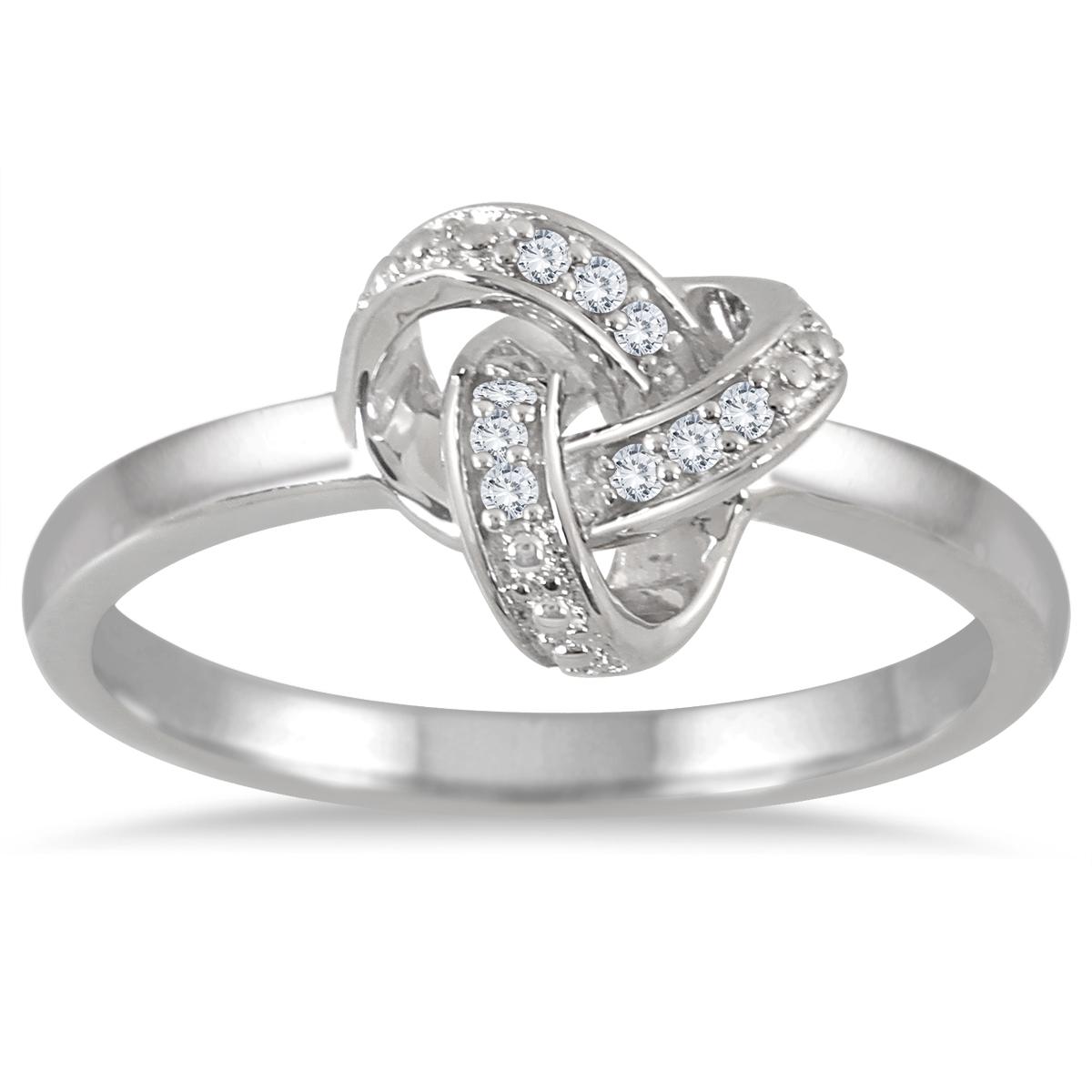 Diamond Infinity Ring...