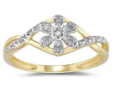 Diamond Flower Twist...