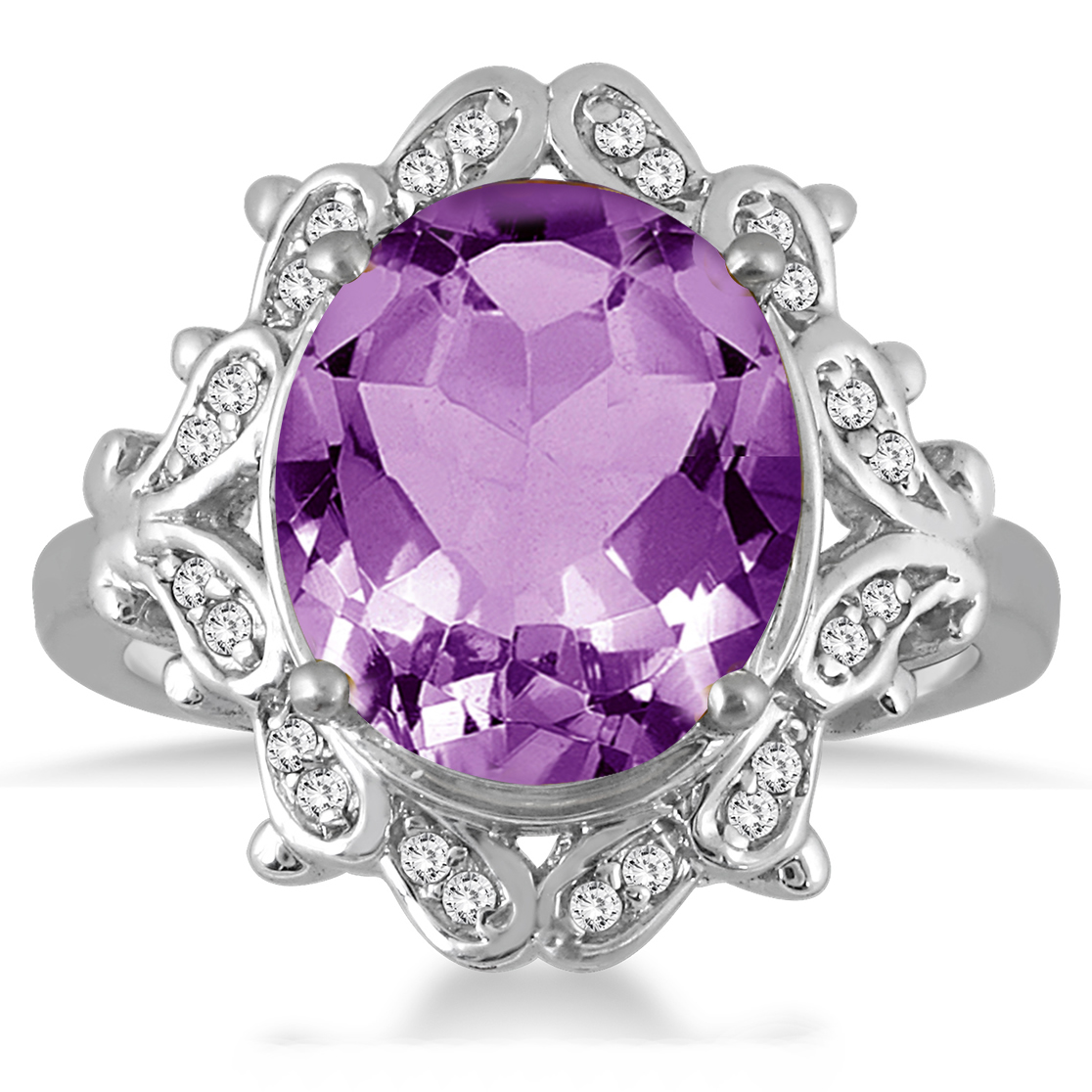 5 Carat Amethyst and...