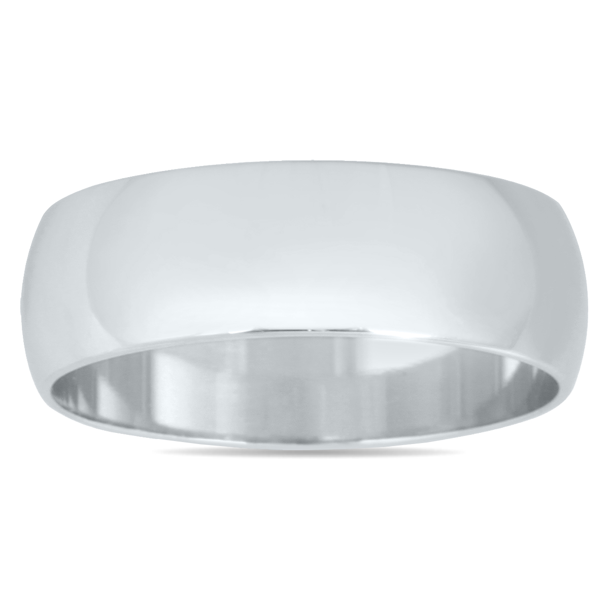 6mm Domed Wedding Band...