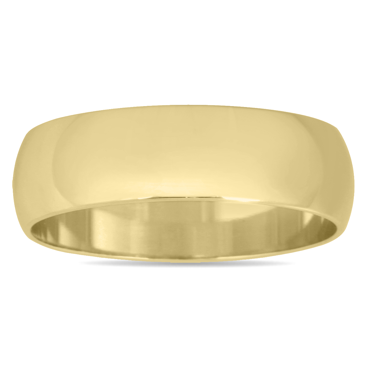 5mm Domed Wedding Band...