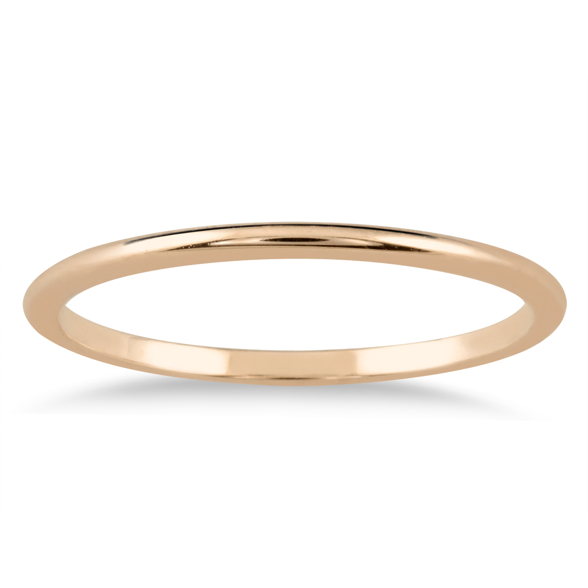 1mm Domed Wedding Band...